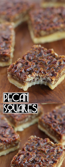 The Best Ina Garten's #Pecan Squares #Recipe #dessert