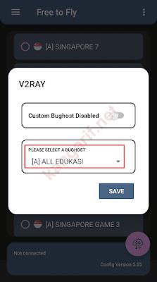 klik please select a bughost