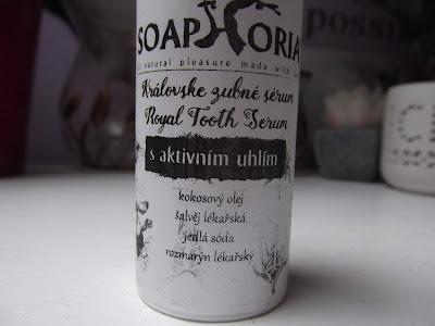 soaphoria Kráľovské zubné sérum