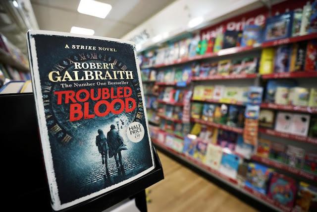 Folha de S.Paulo publica crítica a 'Troubled Blood', novo livro de Galbraith (pseudônimo de J.K. Rowling): 'romance caça-níqueis' | Ordem da Fênix Brasileira