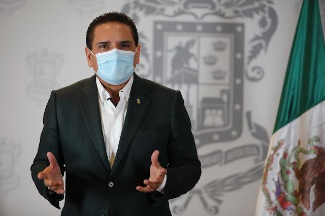 Epidemia, lejos de terminarse: Silvano Aureoles