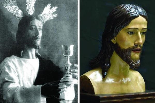 El busto del primitivo Señor de la Cena continúa a la venta en Jerez