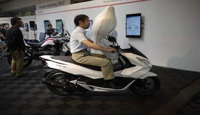 Benarkah, Skuter Honda Terbaru Akan Pakai Airbag