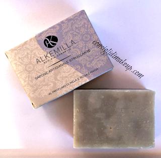 review sapone artigianale struccante alkemilla