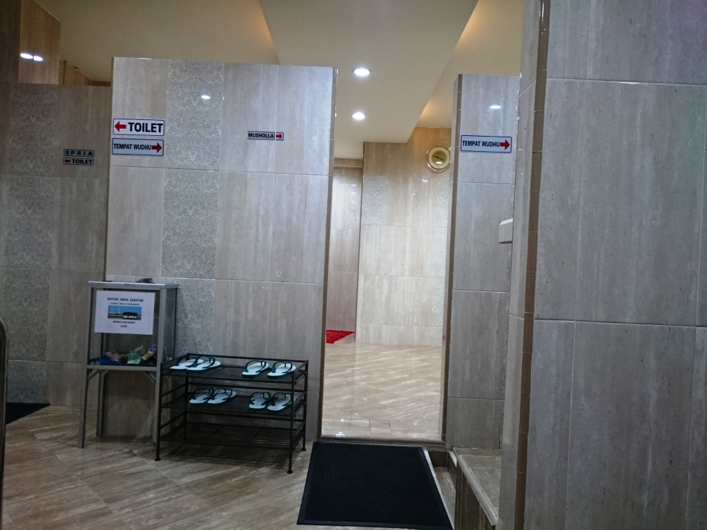 Sholat Dimana Sandal Wudhu Masjid Mushola Kantor Hotel Ada Tempat Sepatu