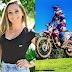 Conheça a história da capinzalense de 19 anos apaixonada por pilotar motocicleta