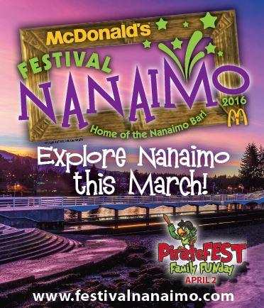 Festival Nanaimo brochure