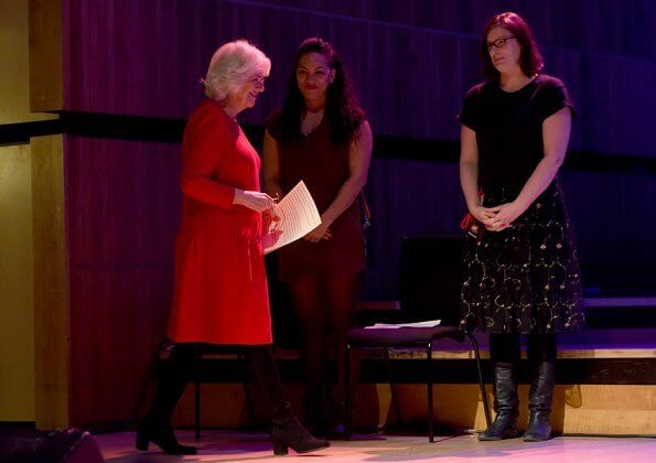 The Duchess attended the Grand Opening Session of the Women of the World Festival held at London Southbank Centre