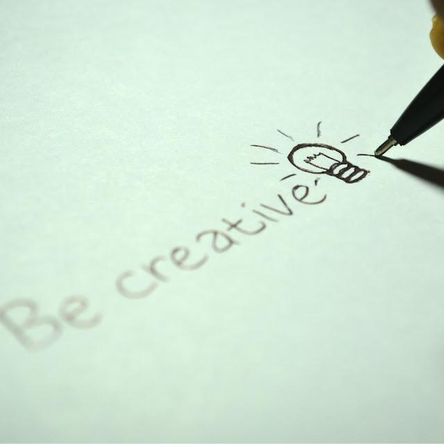 Seja criativo!
