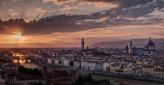 Magdalen Nabb's story begins in late winter in Marshal Guarnaccia's home city of Florence