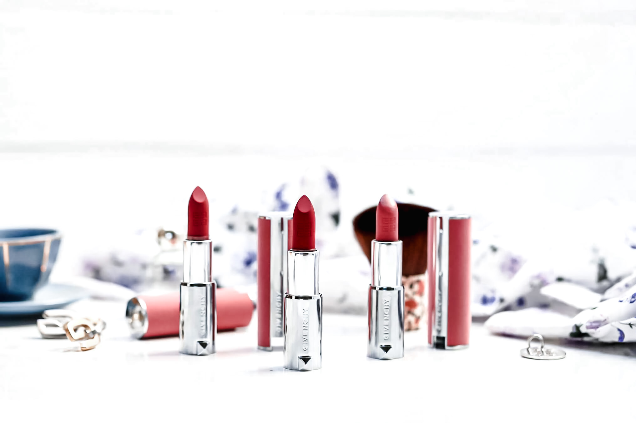 Givenchy Le Rouge Sheer Velvet test