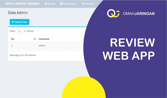 Review Aplikasi Pemesanan Kamar Hotel Sederhana Dengan PHP Gratis Download