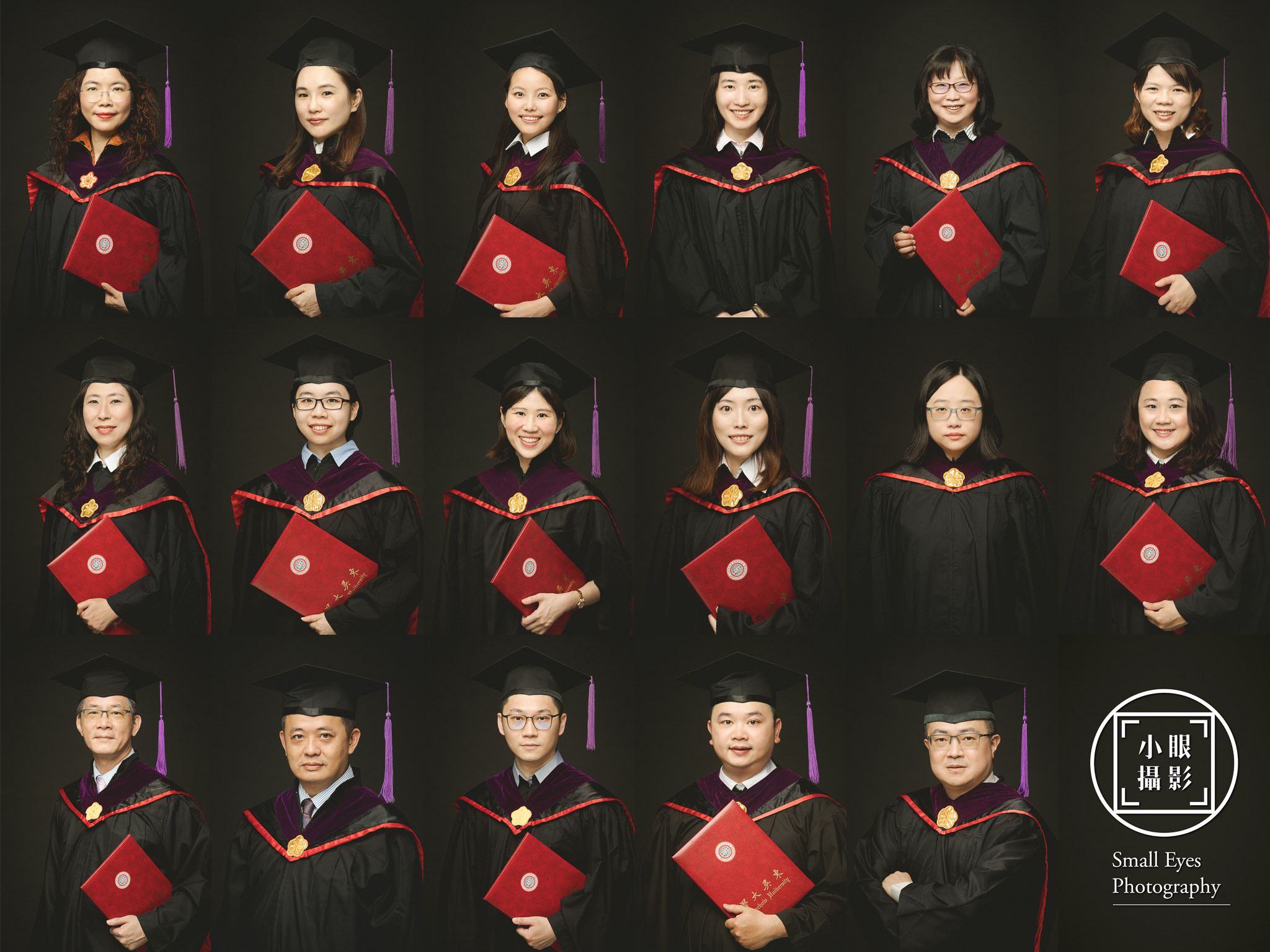 【人像寫真】2020 東吳大學法律系 碩士在職專班 - 畢業照