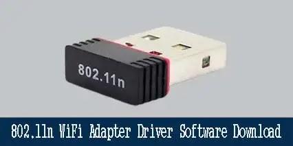 WiFi Adapter Realtek 802.11n Driver Software 2021