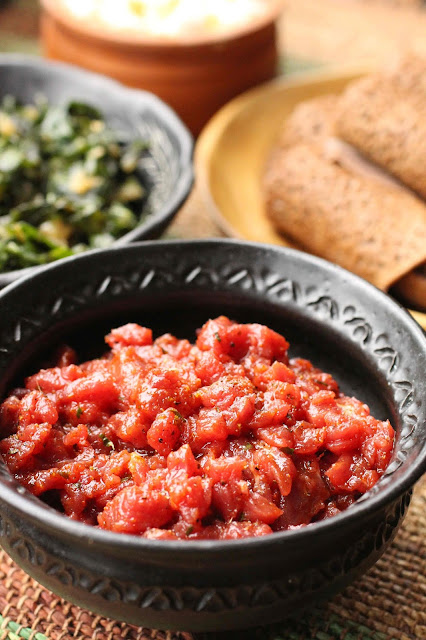 tartare a l'ethiopienne