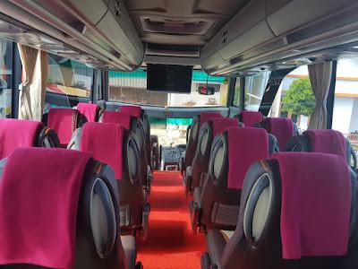 Sewa Bus Pariwisata SHD / HDD di Surabaya