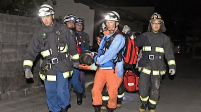 Gempa Jepang Berkekuatan 6,3 SR Berguncang, 9 Orang Tewas dan 250 Orang Luka Luka