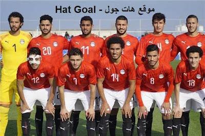 مباراة مصر الأوليمبي وغانا