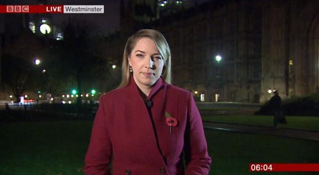 A reportera de la BBC le juegan broma con gemidos de película
