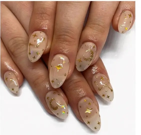 - Starlit Design - Highlights of this year's Christmas manicure graphics: