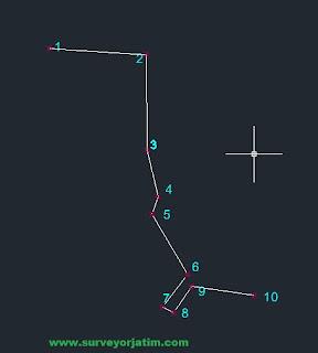 Cara mengambil data koordinat dari Autocad ke excel
