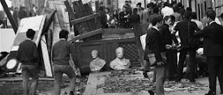 Parigi, maggio 1968: vandalismo
