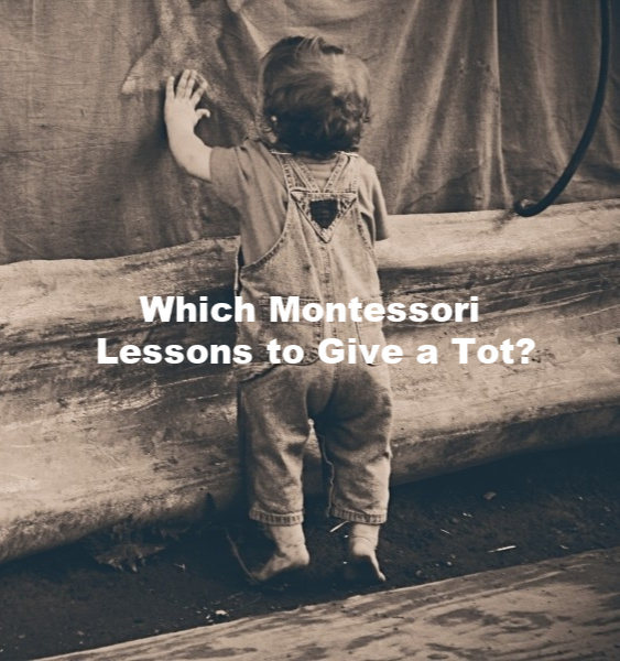 Which Montessori Lessons to Give a Tot?