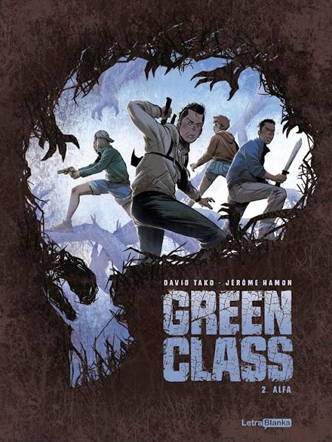 Review del cómic Green Class Vol.2 de David Tako y Jerome Hamon - Letrablanka Editorial