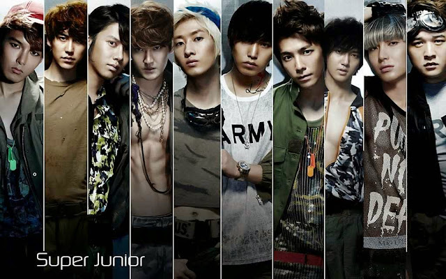 Super Junior personels