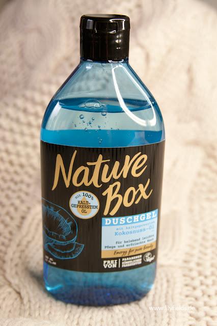 Nature Box - Duschgel mit kaltgepressten Kokosnuss-Öl