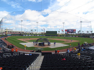 Home to center, The Ballpark at the Palm Beaches