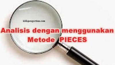 Metode Pieces dan Contohnya dalam Tahapan Analisis Sistem