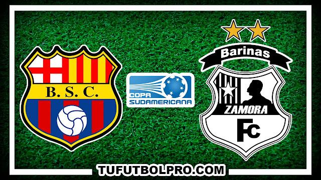 Ver Barcelona SC vs Zamora FC EN VIVO Por Internet