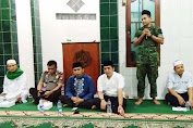 Danramil O2 Tambora, Hadiri Buka Puasa Bersama 3 Pilar di Masjid Darussajidin Kalianyar.
