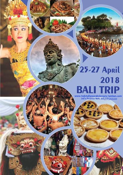 Info HUT Tulipware 2018 Bali