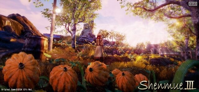 Shenmue 3 demonstration image