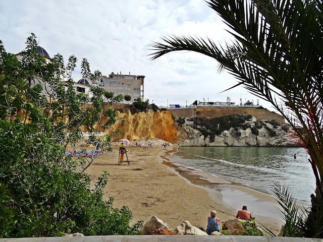 Benidorm i okolice. Plaża Poniente i promenada