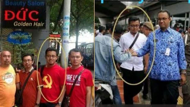 Breakingnews, Achmad Izzul Waro Akui Foto Kaos Merah Palu Arit Dirinya dan Minta Maaf
