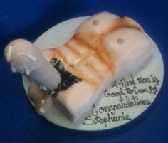 Cum on Penis Cake for bachelorette Party