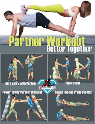 Choose your Partner Workouts To Build The Perfect Body Together