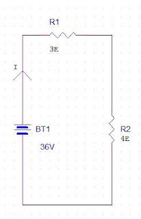Calculation of voltage drop in circuit