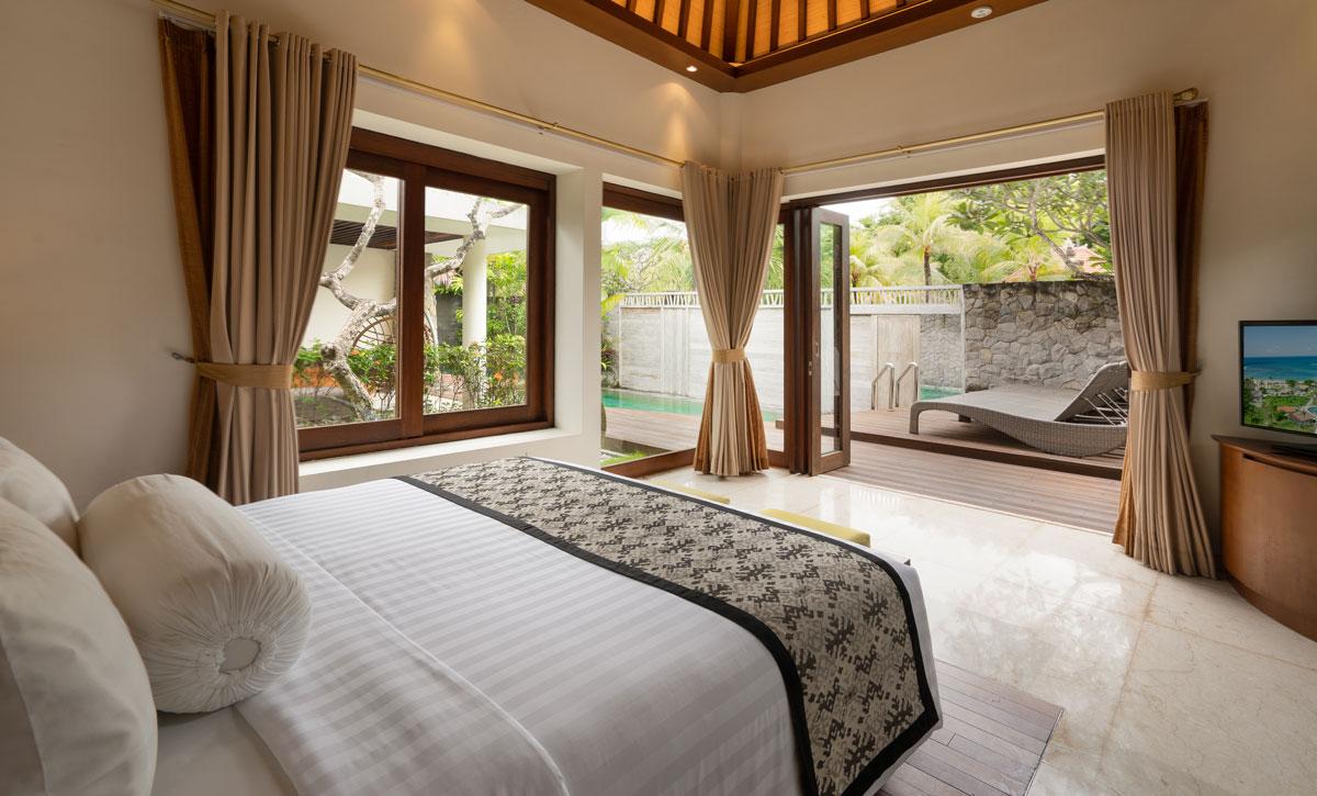 Villa Two Bedroom - Master Bedroom