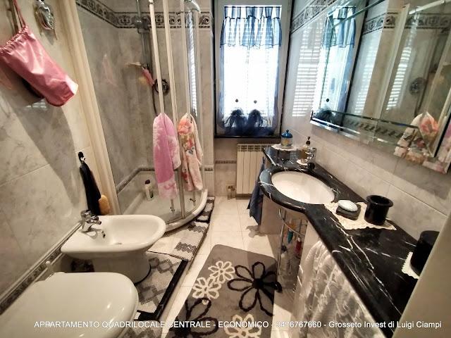 Immagine bagno di appartamento su  Ximenes, Centro, Grosseto, Agenzia Immobiliare Grosseto Invest