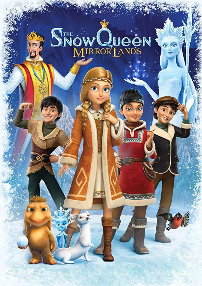 The Snow Queen: Mirrorlands [2019] [CUSTOM HD] [DVDR] [NTSC] [Latino]