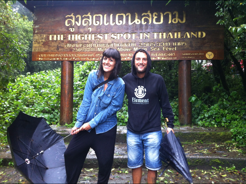Doi Inthanon Highest Spot Thailand