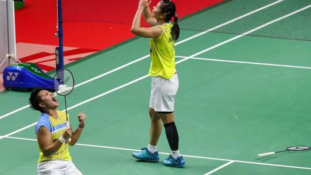 Hasil Thailand Open 2021 : Greysia Polii / Apriyani Rahayu Juara