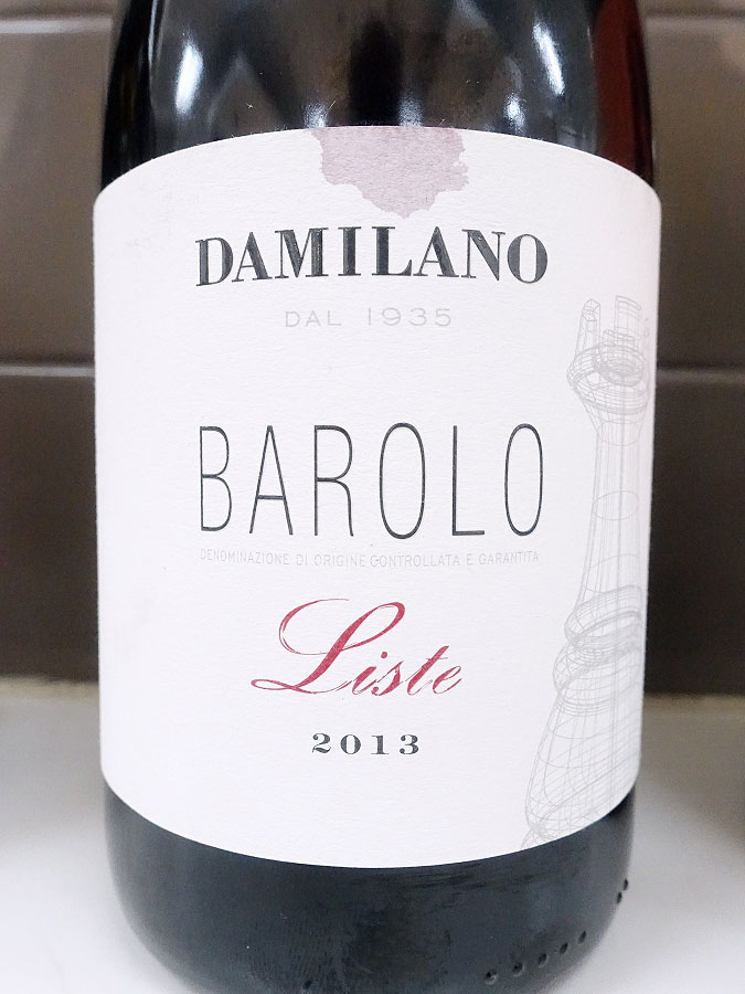 Damilano Liste Barolo 2013 (93 pts)