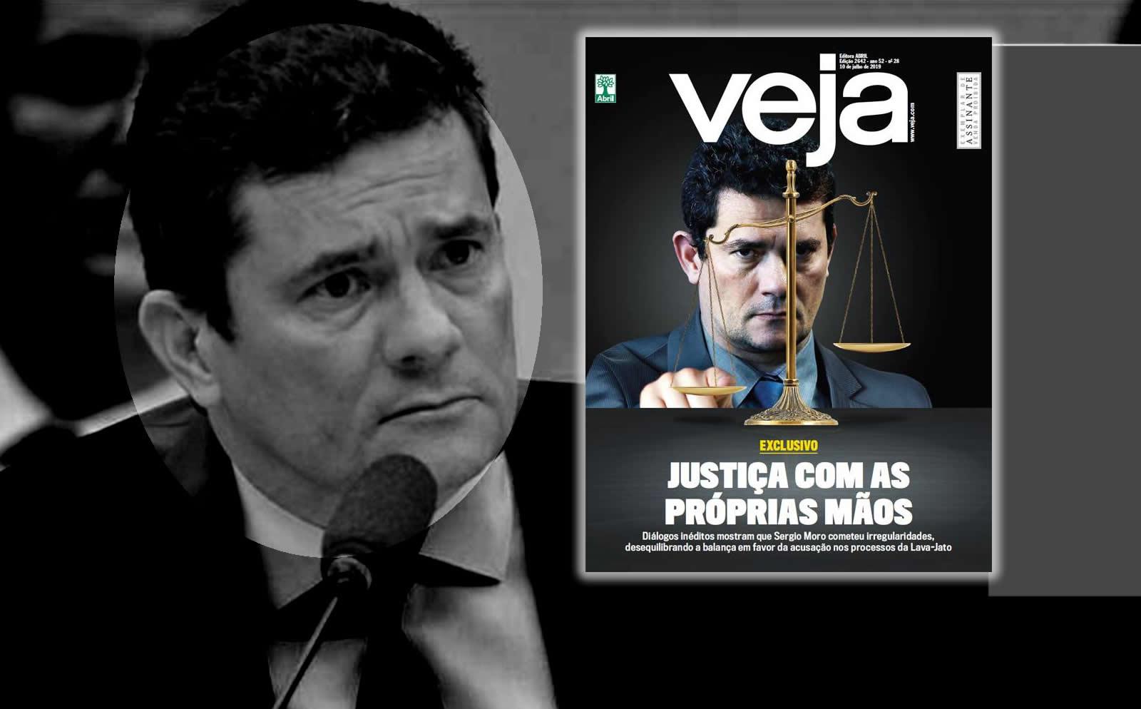 f936644882 Revista Veja confirma: Moro foi um juiz ladrão - Diário do Meio do Mundo -  DMM