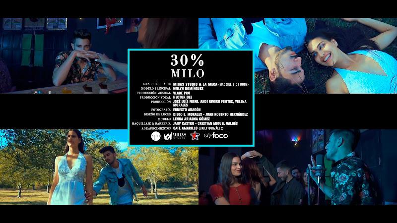 Milo - ¨30%¨ - Videoclip - Dirección: Midas Studio - La Meca. Portal Del Vídeo Clip Cubano. Música cubana. Reguetón. Cuba.