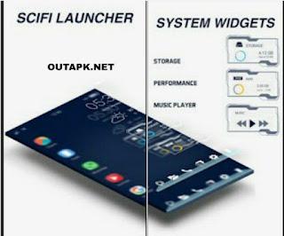 Sci fi Launcher Apk v1.2 [Pro] [Latest]